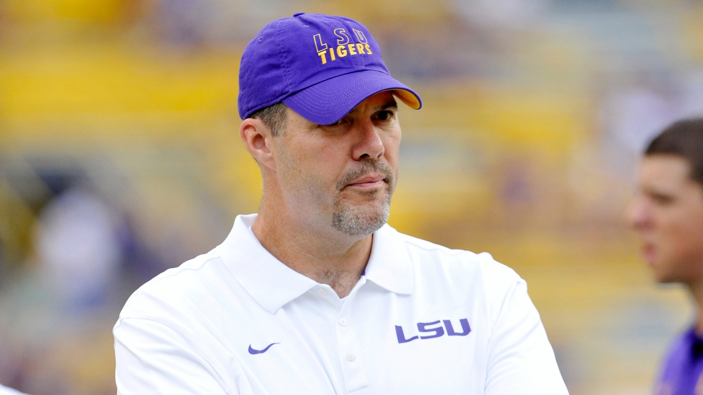 LSU offensive line coach Jeff Grimes leaving for BYU