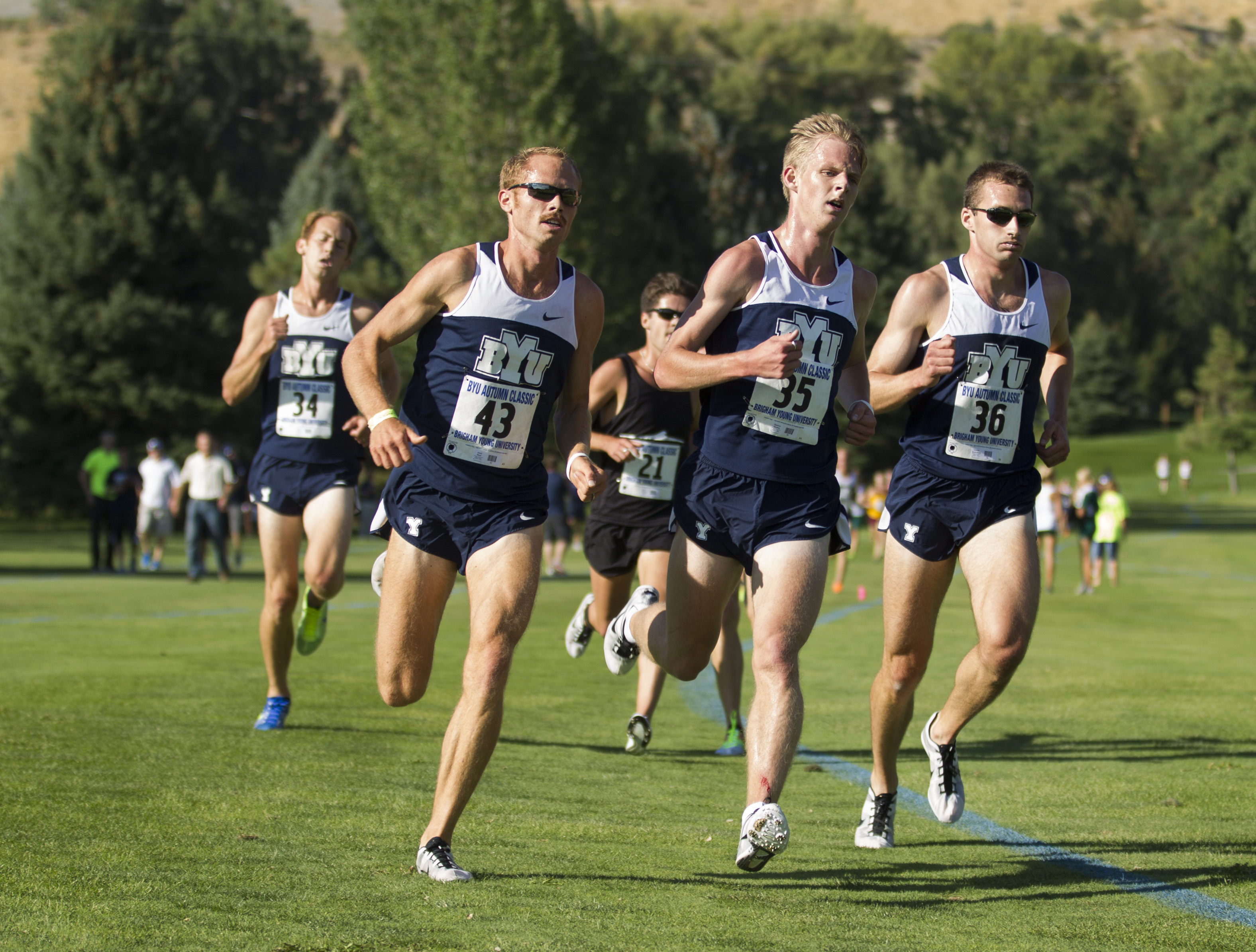 BYU cross country teams do well at home