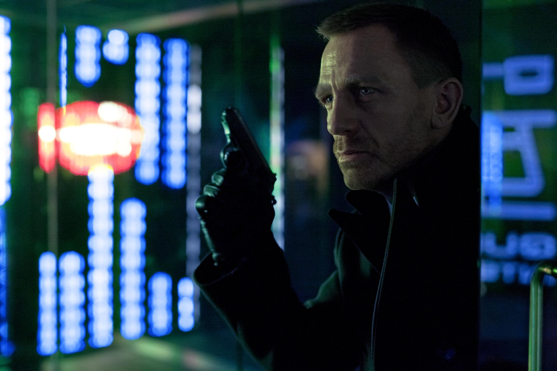 Daniel Craig by Francois Duhamel.
