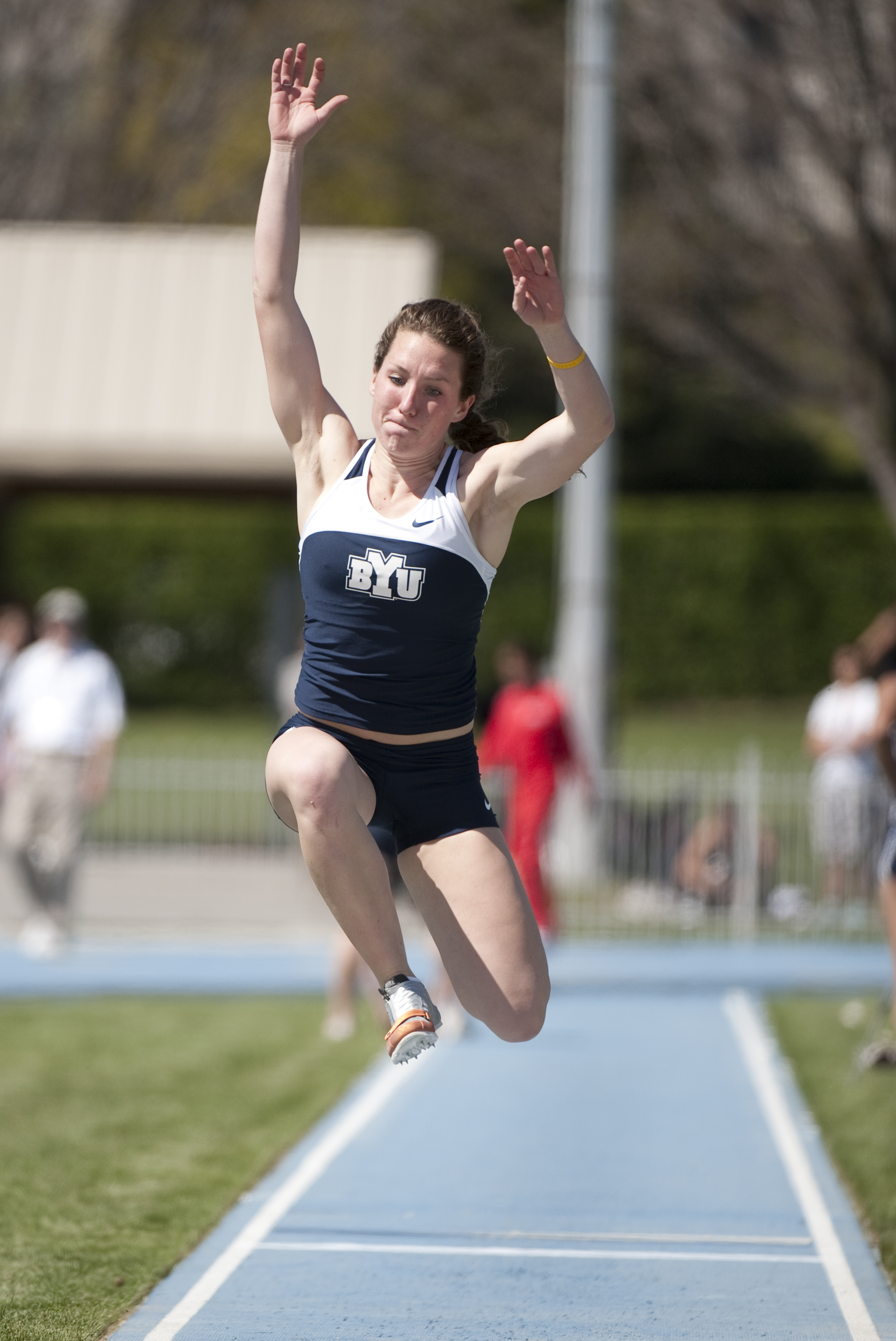 BYU tracksters run away with several top finishes at UW and Air Force