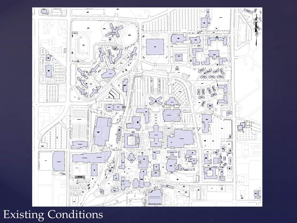map of byui campus Byu S Plan For Campus Drive The Daily Universe map of byui campus