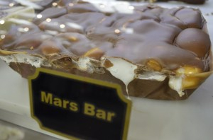 BYU Bookstoore's Mars Bar fudge. The Bookstore has been making their own fudge for more than 25 years. (Photo courtesy BYU Bookstore)