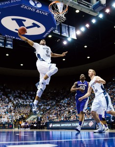 3rd place — Sports Action (Photo by Jaren Wilkey/BYU)