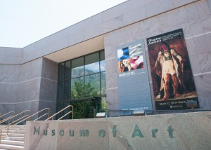 The Museum of Art uses security guards, nearly 150 cameras and an alarm system to protect its art. The MOA opened in 1993. (Universe Archives)