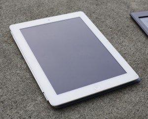 The iPad is the only e-reader available for purchase at the BYU Bookstore. (Photo courtesy of Elliott Miller)