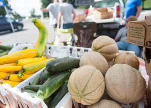 Farmers markets provide a variety of fruit and vegetables grown locally. (Photo by Chris Bunker)