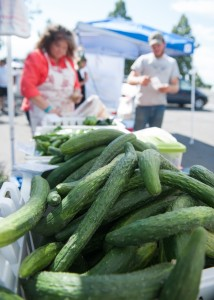 Farmers markets offer a variety of fruits and vegetables grown locally