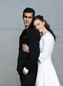 Cami and Chris Ortega are part of the 25 percent of married students at BYU. (Photo courtesy of Cami Ortega)