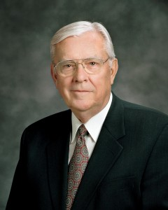Elder M. Russell Ballard will deliver the Campus Education Week Devotional. (Photo courtesy University Communications)