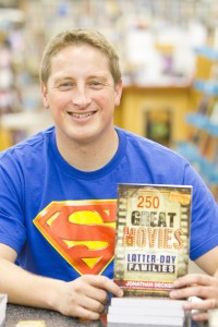 Jonathan Decker's new book 250 Great Movies for Ladder-day Families can be found in stores now. (Photo by Sarah Hill.)