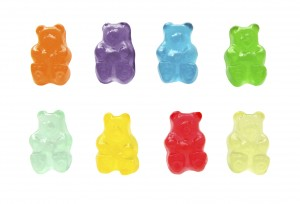 Sugar-free gummy bears may have a laxative ingredient in them.