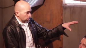 "Garrett Batty directing ""The Saratov Approach"" during filming. (Photo courtesy of Garret Batty.)"