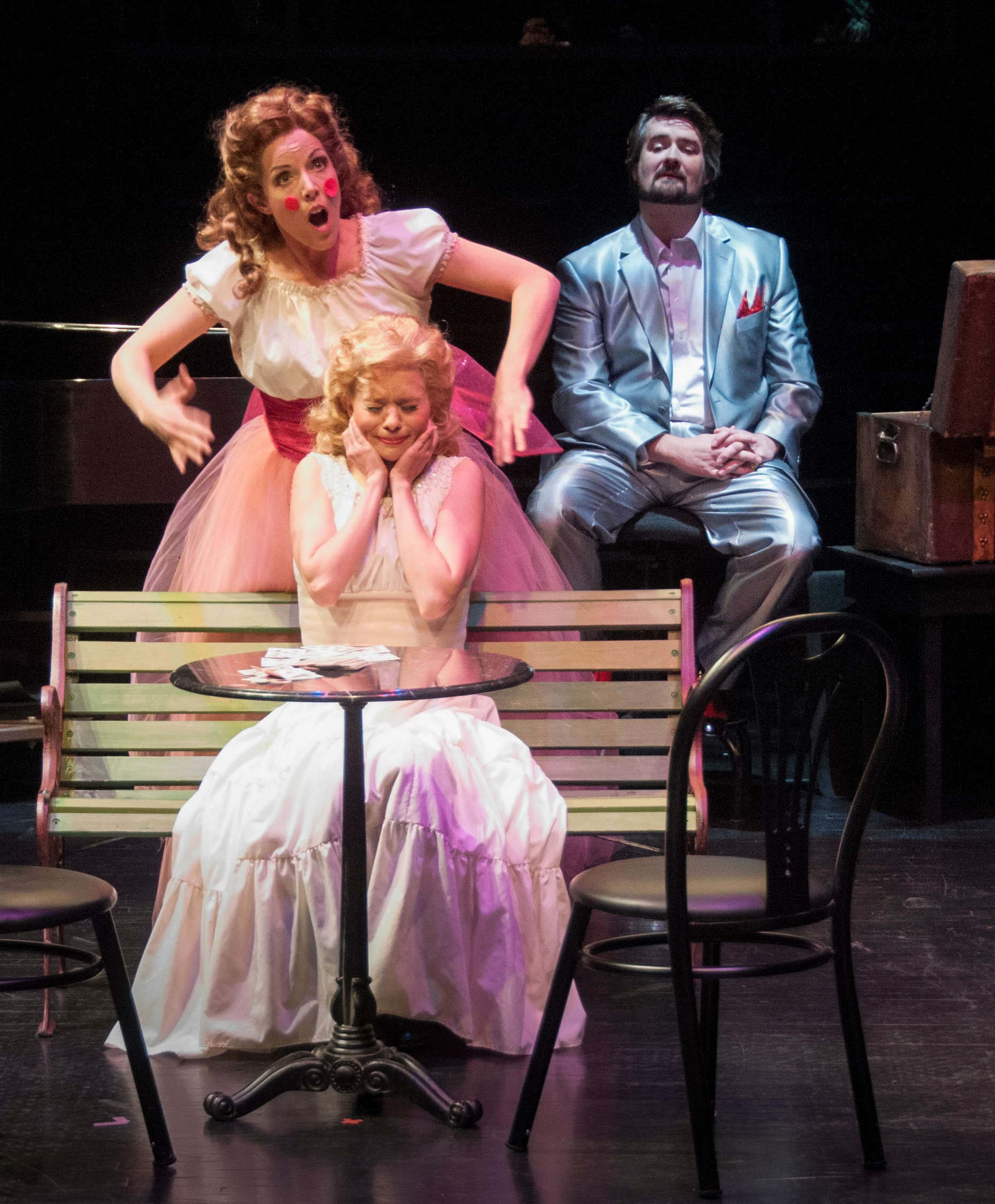 Divas Death And Satire Fill The Stage In Utah Opera S Production