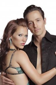 Ashleigh and her husband Ryan auditioned for So You Think You Can Dance' together and made it to the finals, launching themselves into the national spotlight. (Photo courtesy of Heidi Ann Studios.)