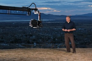 Todd Hansen as host of the Story Trek, takes his audiences across the country to meet to find the modern tales of our of our time. (Photo courtesy thestorytrek.com and BYU Broadcasting)