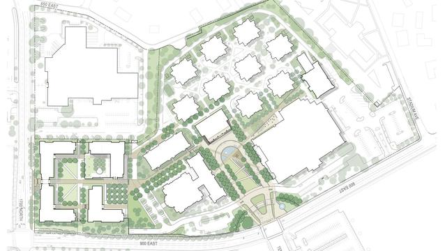 Church announces plans for mtc expansion the daily universe blueprint of plans courtesy mormon newsroom malvernweather Choice Image