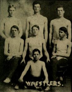 Wrestling Team 1912