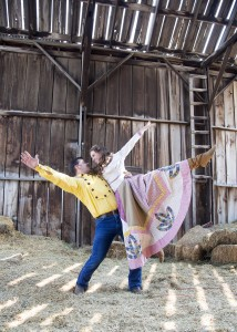 """Scera Shell performers stage """"Seven Brides for Seven Brothers."""" (Mark A. Philbrick)"""