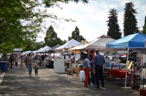 The LaVell Edwards Stadium Farmers Market is open every Thursday from Aug. 7 through Oct. 30. (Alice Law)