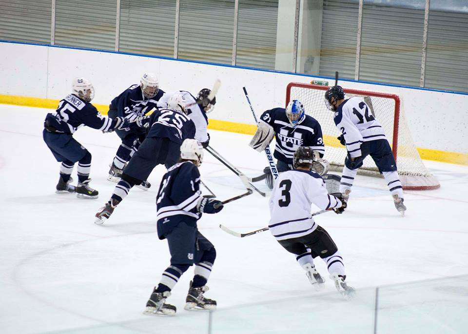 BYU hockey barely loses to Utah State - The Daily Universe 61fd5d13f65