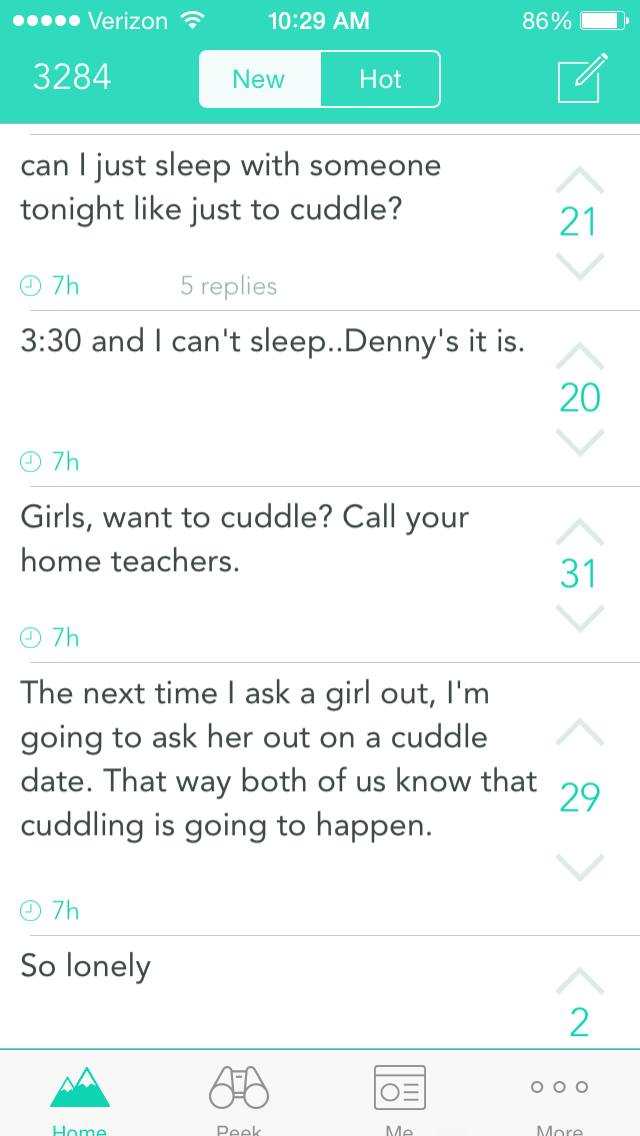 The dark side of anonymity: Yik Yak users reveal nothing and