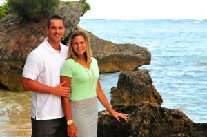 Brett Thompson and wife, Coriann. (Photo courtesy Brett Thompson)