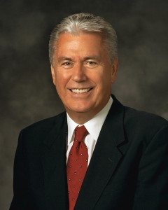 President Dieter F. Uchtdorf of the Church of Jesus Christ of Latter-day Saints talked to the priesthood holders of the LDS Church about personal purity and not trying to accuse others of problems.