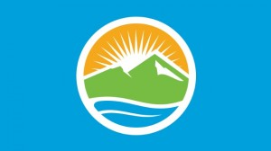The new Provo city flag shows the Provo City seal on a light blue background. (Provo City)