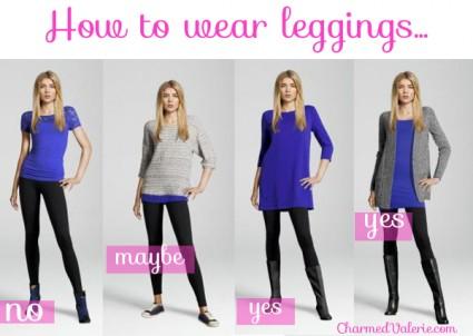 Leggings and pants: The neverending debate