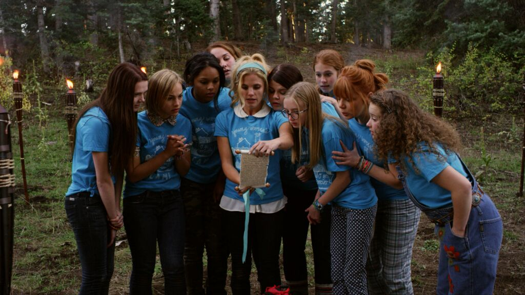 The girls begin their trial of faith, an activity where they have to work together toward an ultimate prize. The film is receiving good reviews from members of other faiths. (Nelson)