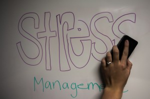 Workshops help students with stress management.  (Maddi Driggs)