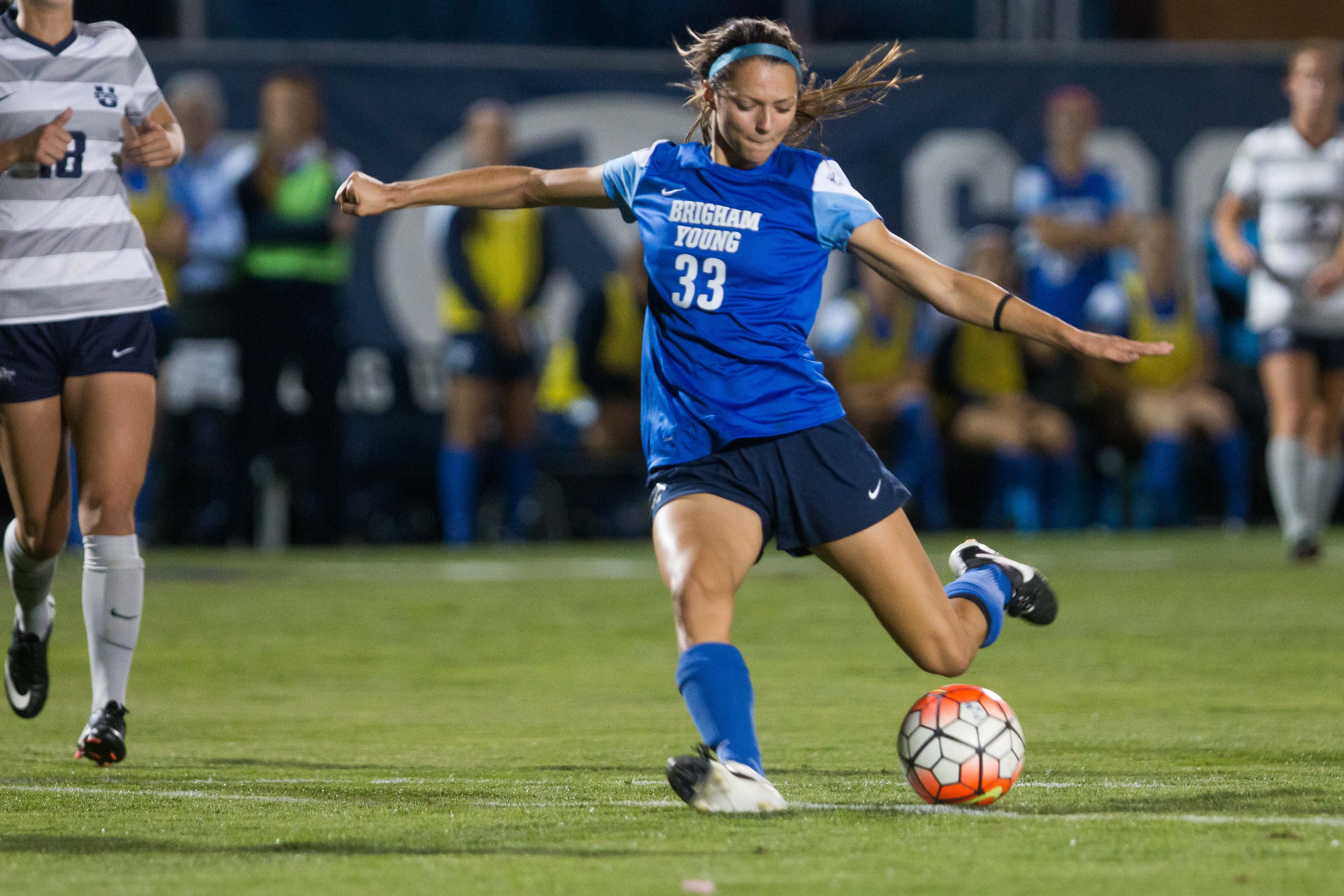 low priced 67383 efdc5 Pairs of sisters compete at home and on BYU soccer field ...