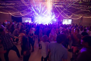 Students attending the BYU Homecoming Dance (Universe Photo)