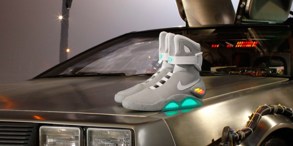 Nike creates McFly s shoes - The Daily Universe 24ac0a214