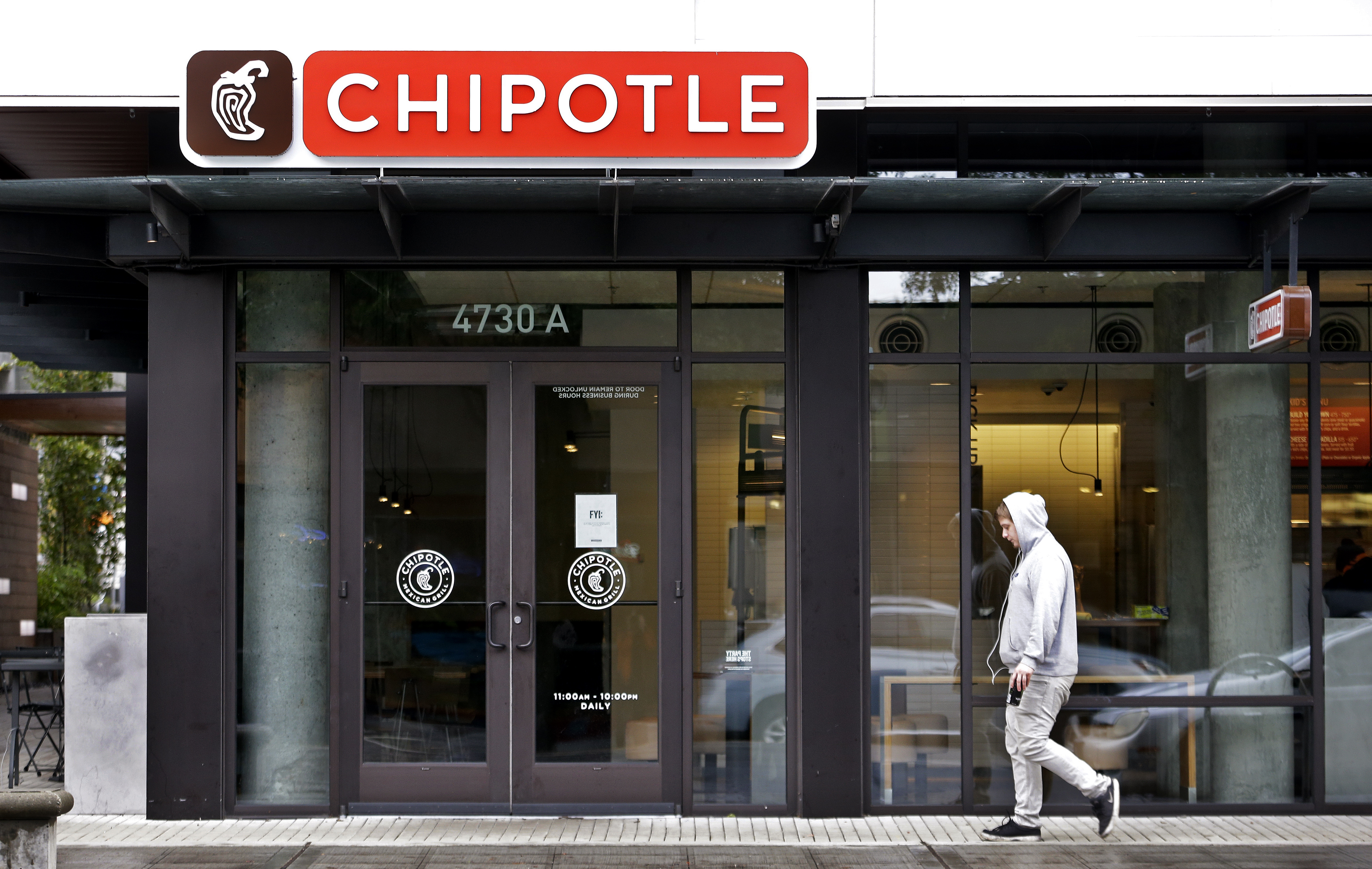 Chipotle closes pacific northwest locations