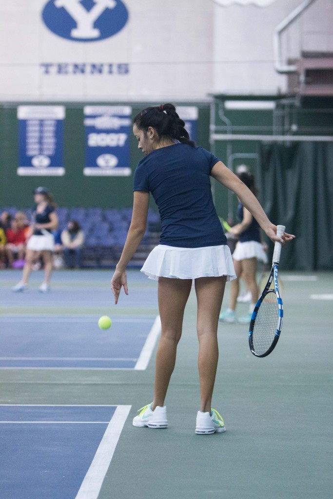 """683 Credit Score >> BYU women's tennis falls to """"hungry"""" Utah - The Daily Universe"""