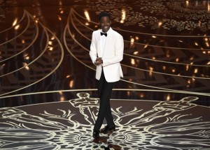 Host Chris Rock speaks at the Oscars on Sunday, Feb. 28, 2016, at the Dolby Theatre in Los Angeles. (Chris Pizzello/Invision/AP)