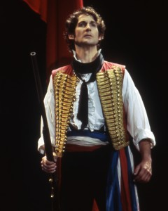 "Dallyn Bayles portrays Enjolras in the ""Les Miserables"" musical."