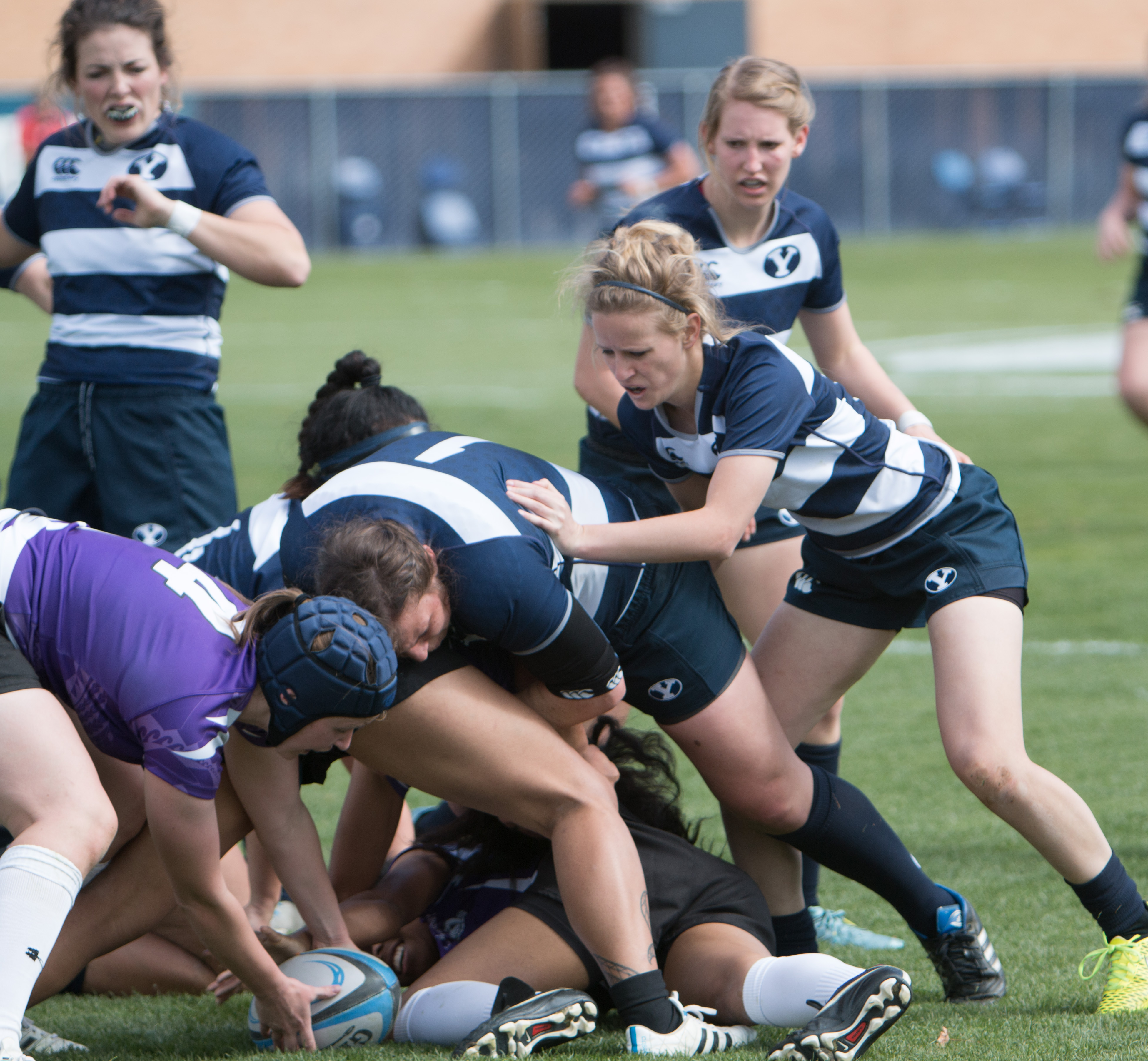 Basketball Clubs In Rugby: BYU Women's Rugby Prevails Over Lethbridge