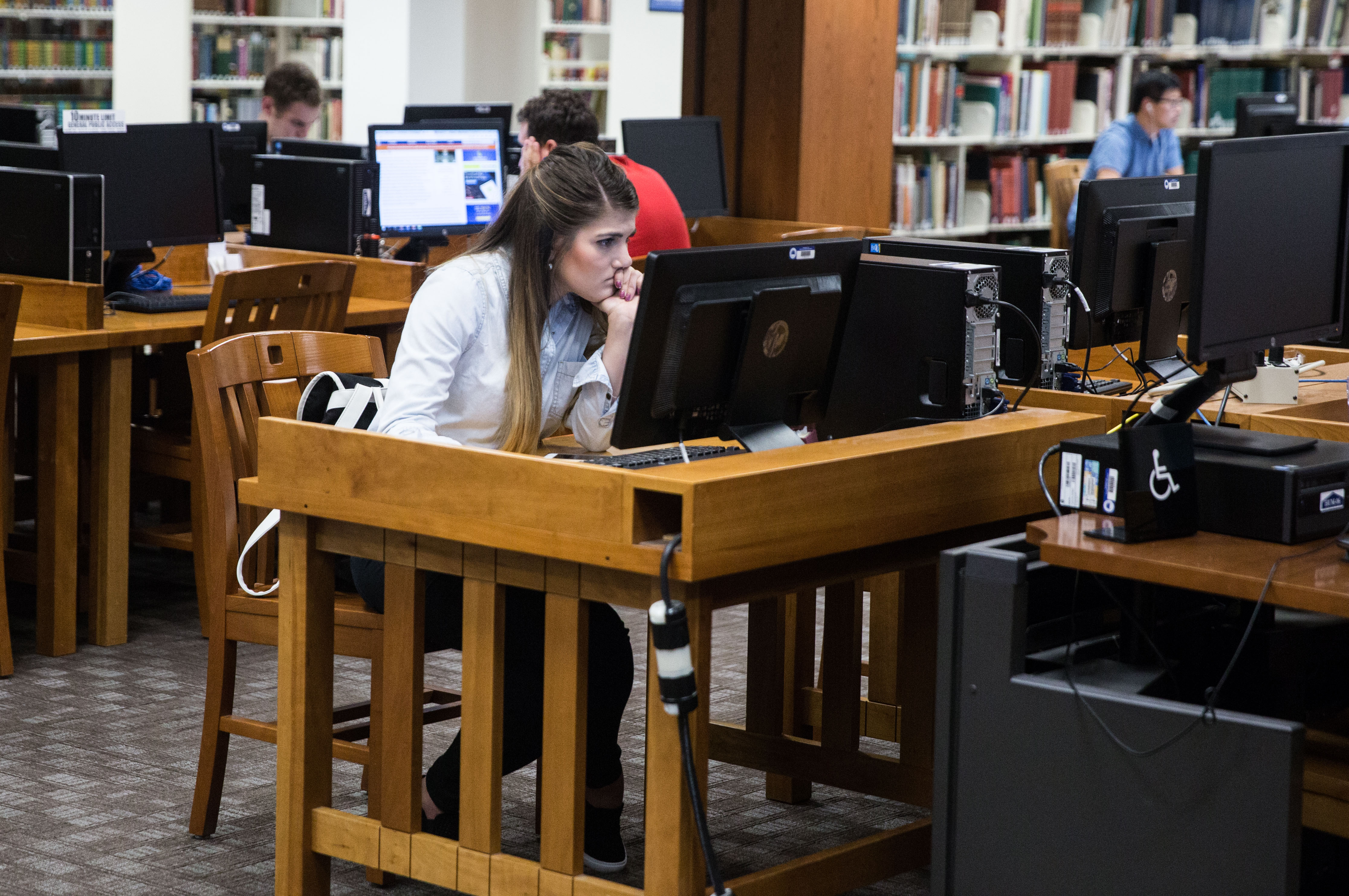 Byu Students Have Access To A Wide Variety Of Academic And Technological Materials At The Harold B Lee Library Maddi Driggs