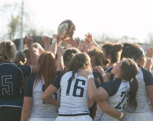 The BYU women's rugby team played in the program's first National Championship on May 7. (Natalie Stoker)