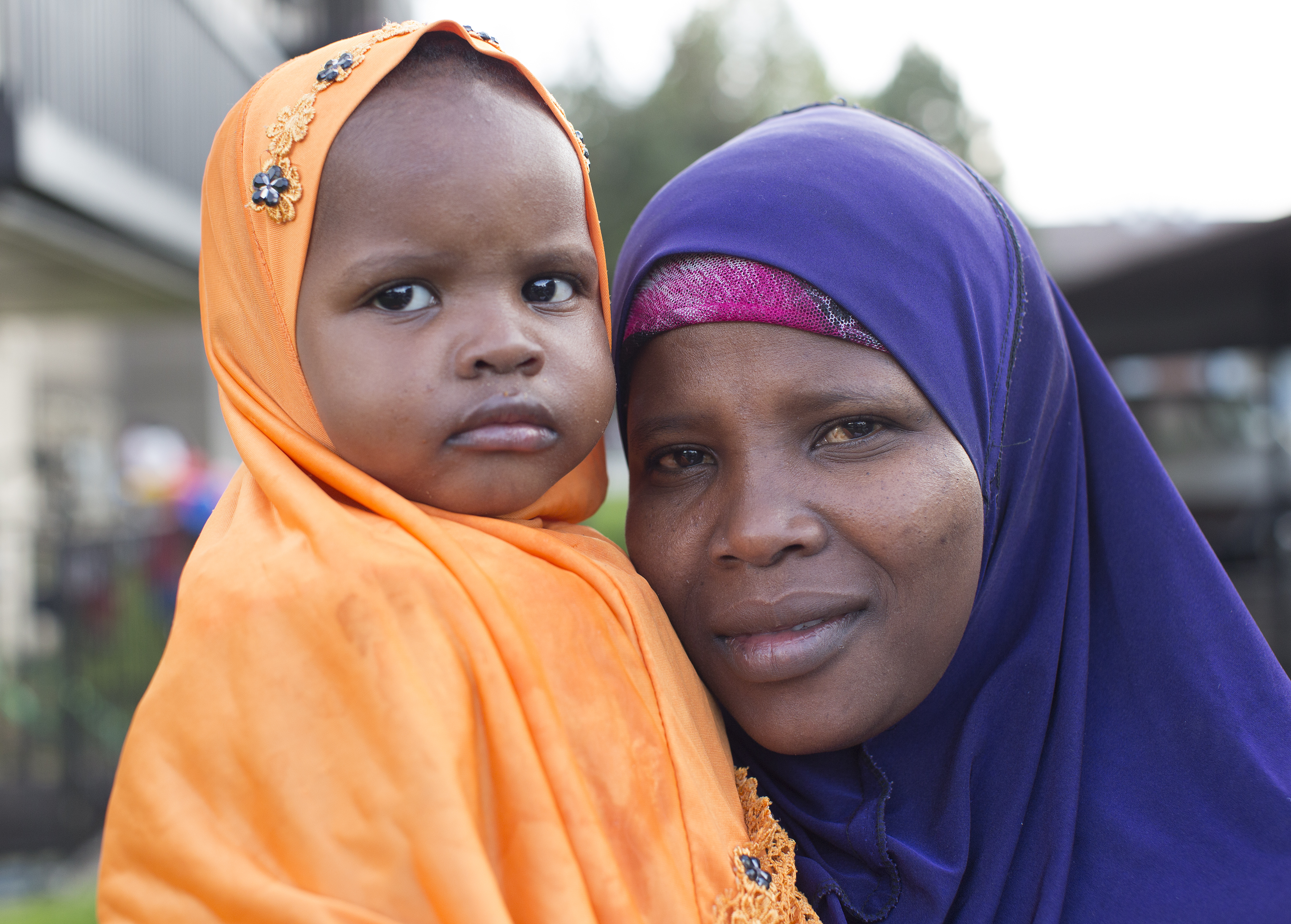 A mom and daughter like these are some of the refugees that Catholic Community Services assist in their adjustment process. Provo's 5K race for refugees hopes to raise money to donate to local refugee organizations.