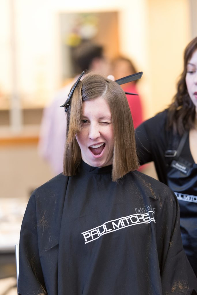 Students Let Hair Down For Locks Of Love The Daily Universe