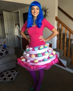 Emily Meredith shows off her Katy Perry Halloween costume. (Emily Meredith)
