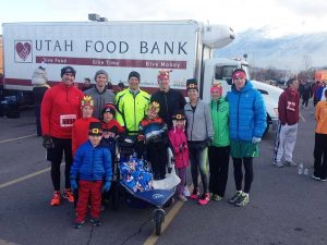 Runners compete in the Utah Human Race last year. (Name here)