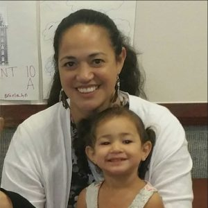Sunny Mahe holds her daughter Elsie. The Mahe's donated Elsie's organs after her tragic death. (Facebook screenshot)