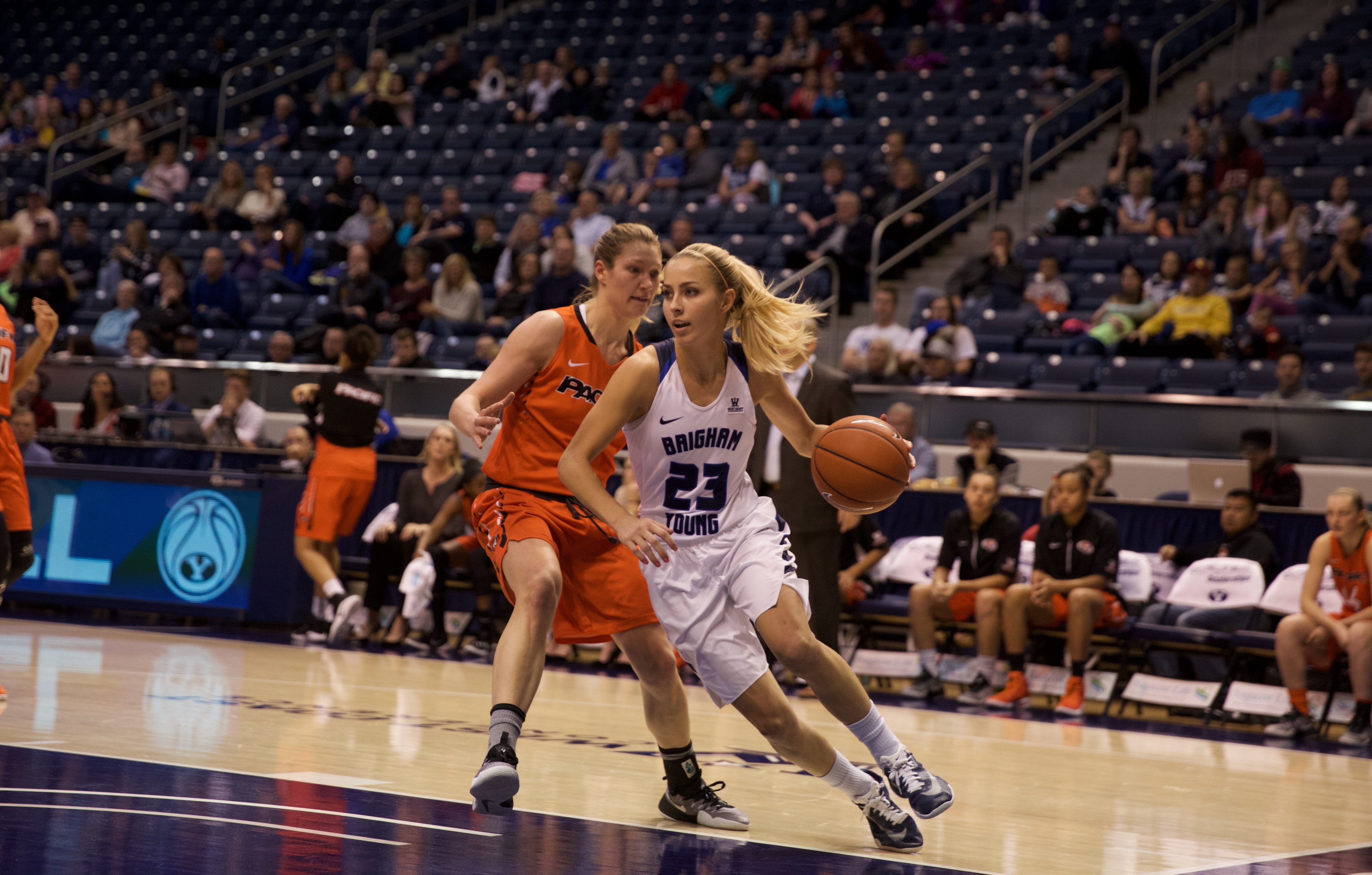 BYU women's basketball picks up hard-fought win over Pacific