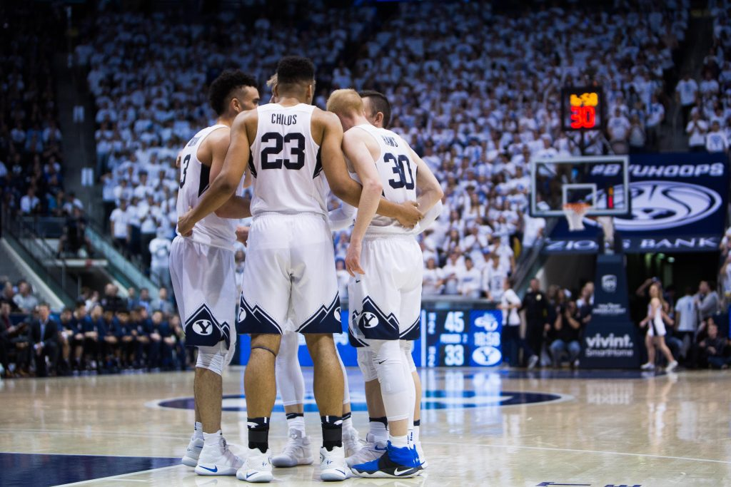 byu men s basketball team talks roster changes preview of 2017 2018