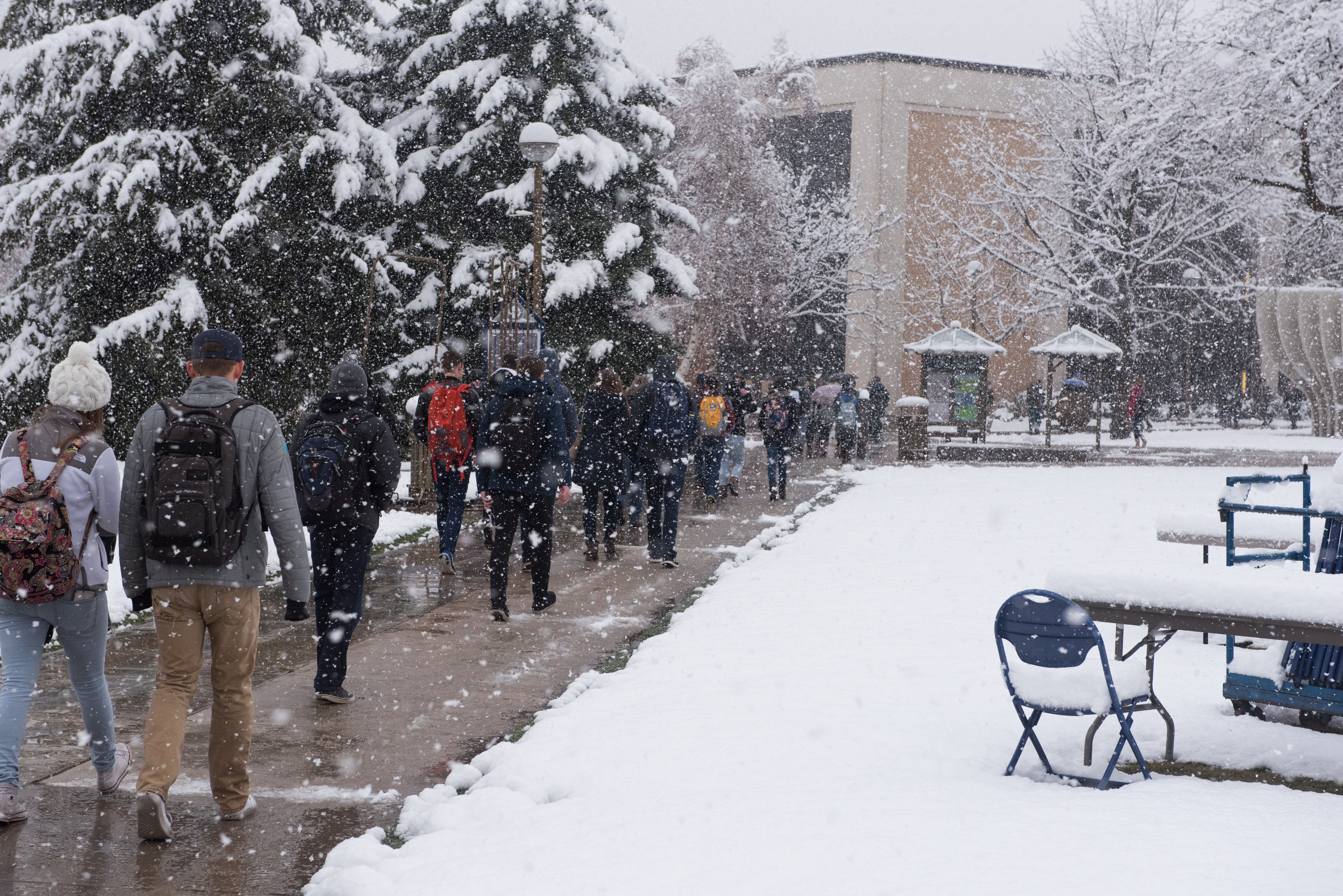 byu students have slim chance of snow days the daily universe