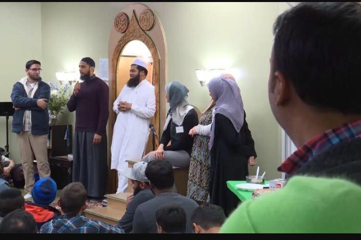 Muslims and Utahns attend a Meet the Muslims event. (Photo courtesy of Imam Shuaib)